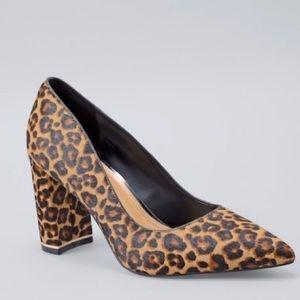 Leopard Calf Hair Pumps